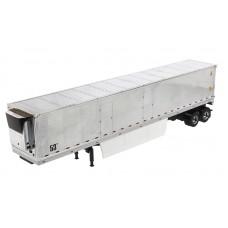 53' reefer trailer (chrome)