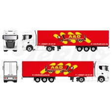 A&D Trucks en Trailers 1:87