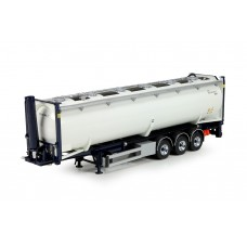 T.B. Tipper chassis + 40ft dry bulk container