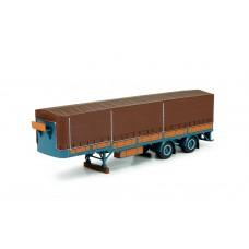 T.B. Daf Curtainside semi trailer